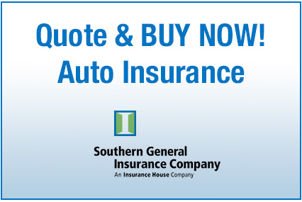 Auto Insurance Quote from Southern General